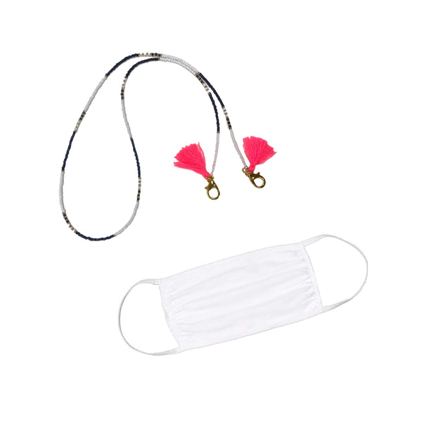 Ready to Glow Face Mask Necklace