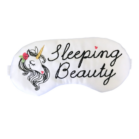 Sleeping Beauty Unicorn Sleep Mask