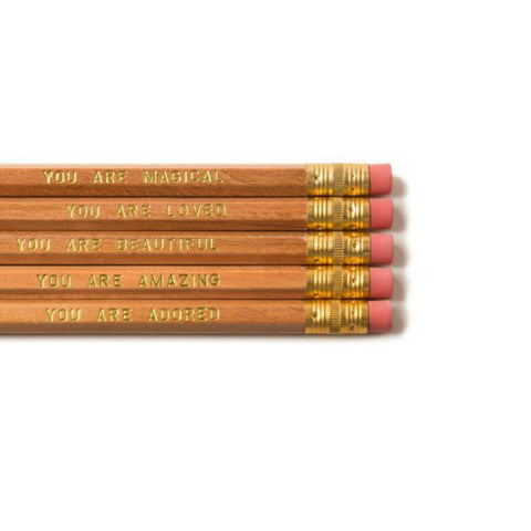 YOU ARE LOVED PENCIL SET FROM OLIVINE ATELIER