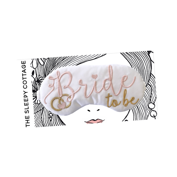 BRIDE TO BE SLEEP MASK