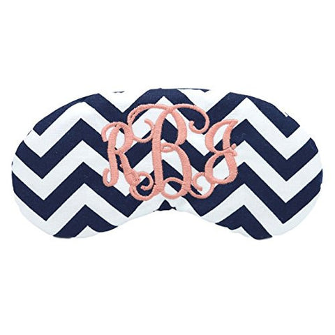CUSTOM MONOGRAM EYE SLEEP MASK