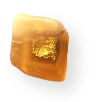 Citrina Gemstone Soap with Ring