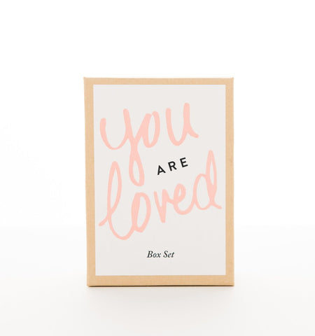 YOU ARE LOVED GIFT SET FROM OLIVINE ATELIER