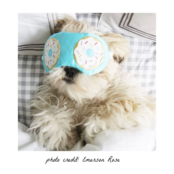 Dreaming Of Donuts Sleep Mask