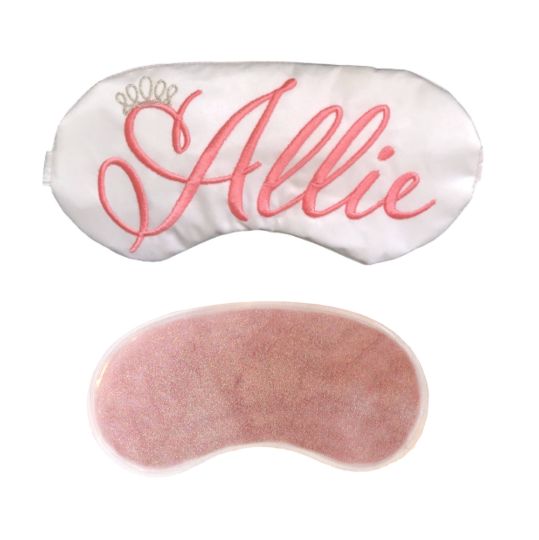 Personalized Princess Sleep Mask - Custom Colors