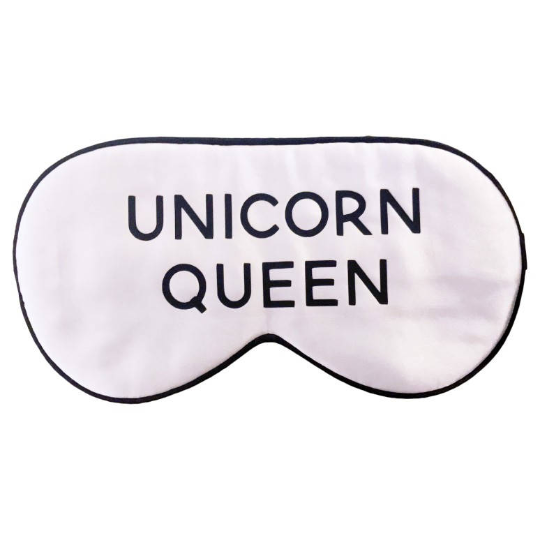 SILK UNICORN QUEEN SLEEP MASK