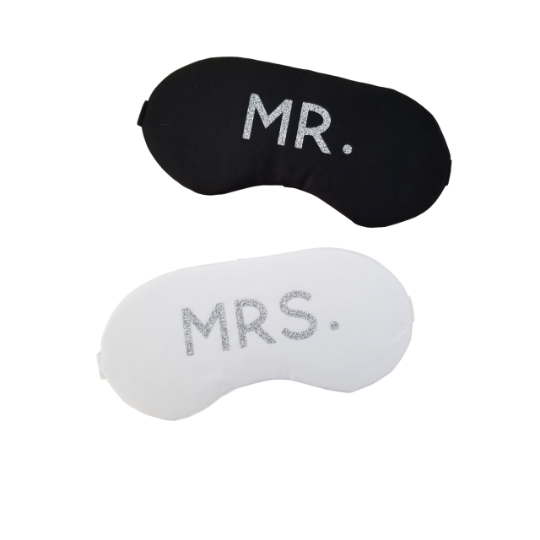Mr. + Mrs. Sleep Mask Set