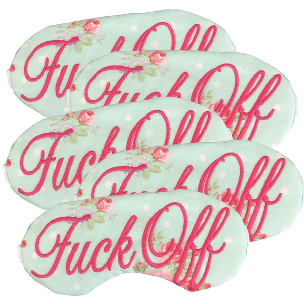 Floral F*uck Off Sleep Mask