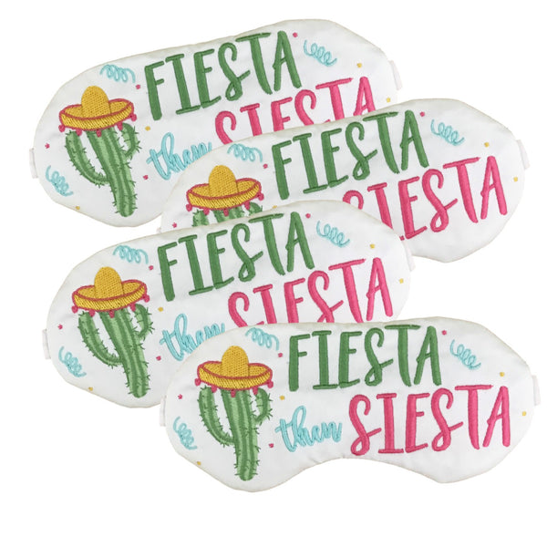 Fiesta Then Siesta Party Mask