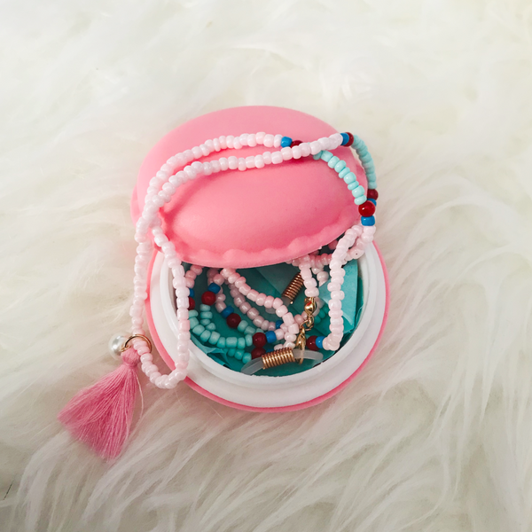 Beaded Tassel Neck Strap for Glasses