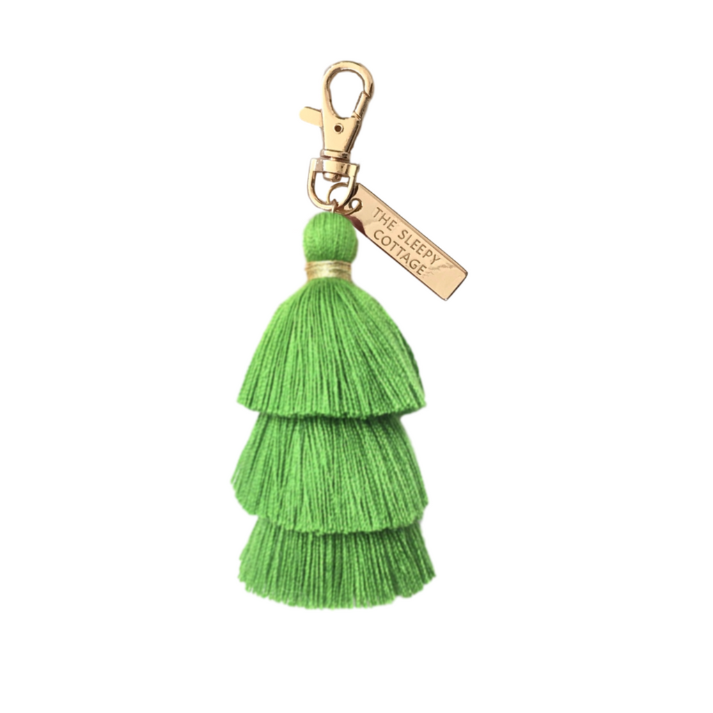 Pagoda Tassel Keychain And Bag Charm