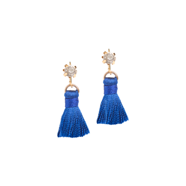 Tiny Tassel Earrings