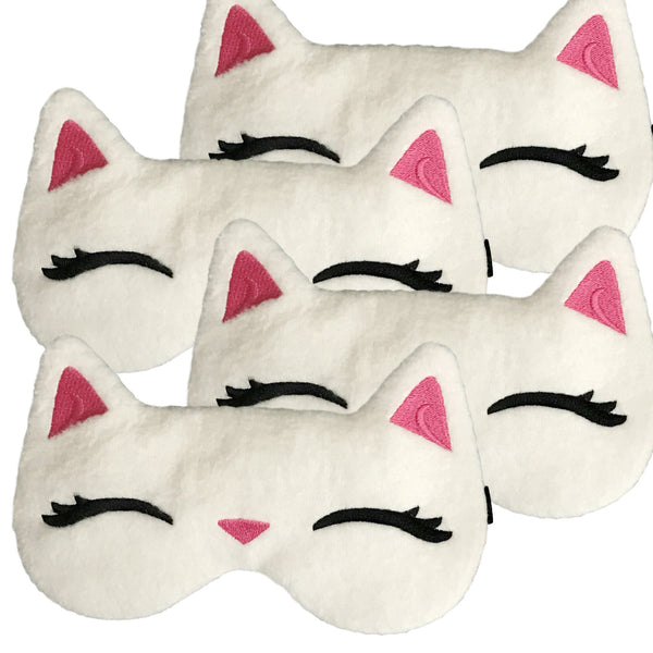 The Cats Pajamas Cream Eye Masks