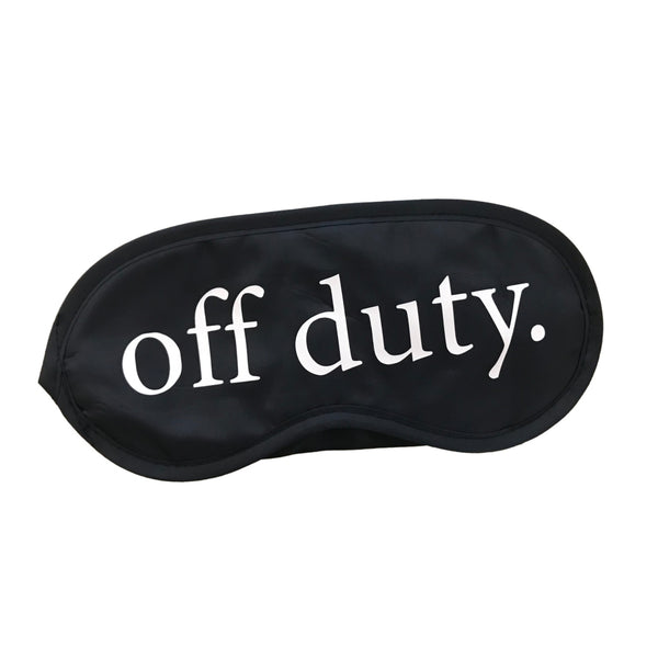 Off Duty Sleep Mask