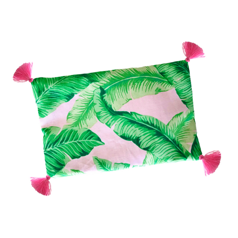 Tropical Tasseled Lavender Eye Pillow - Hot or Cold Therapy
