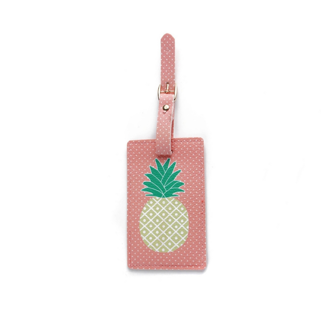 Pineapple Expression Luggage Tag