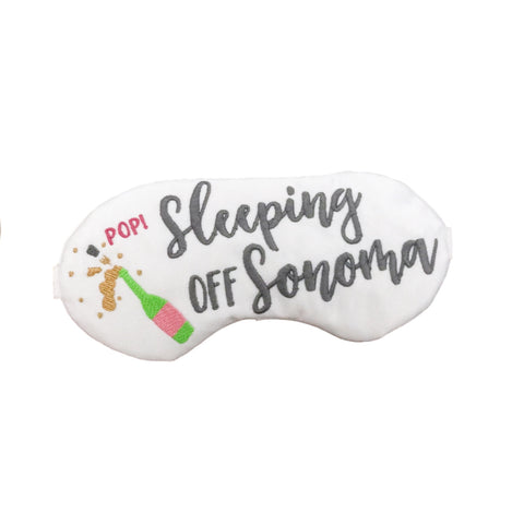 SLEEPING OFF SONOMA SLEEP MASK