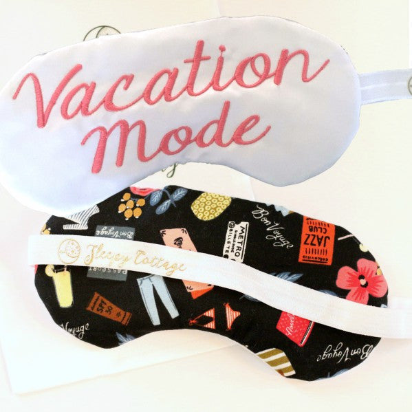 Vacation Mode Sleep Eye Mask - Sleep Mask