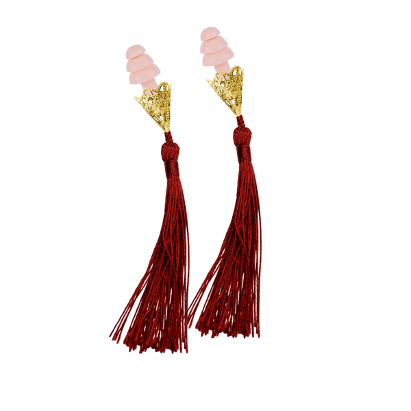Breakfast At Tiffany's Inspired Wine Tassel Sleeping Earplugs