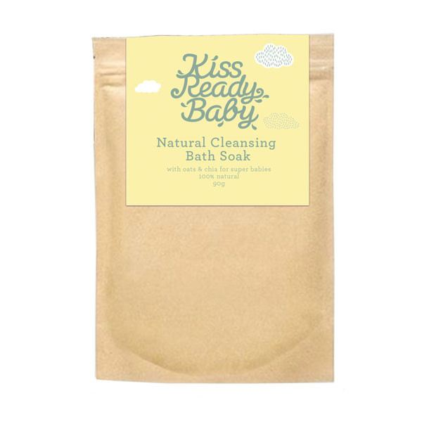 Kiss Ready Baby Natural Cleansing Bath Soak 90G - Bath Soak