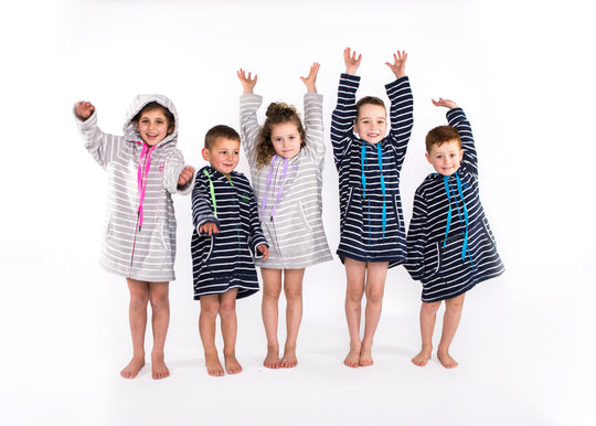 Kids Swim Robes Towels Swimming Robes With Hoods Swoodi