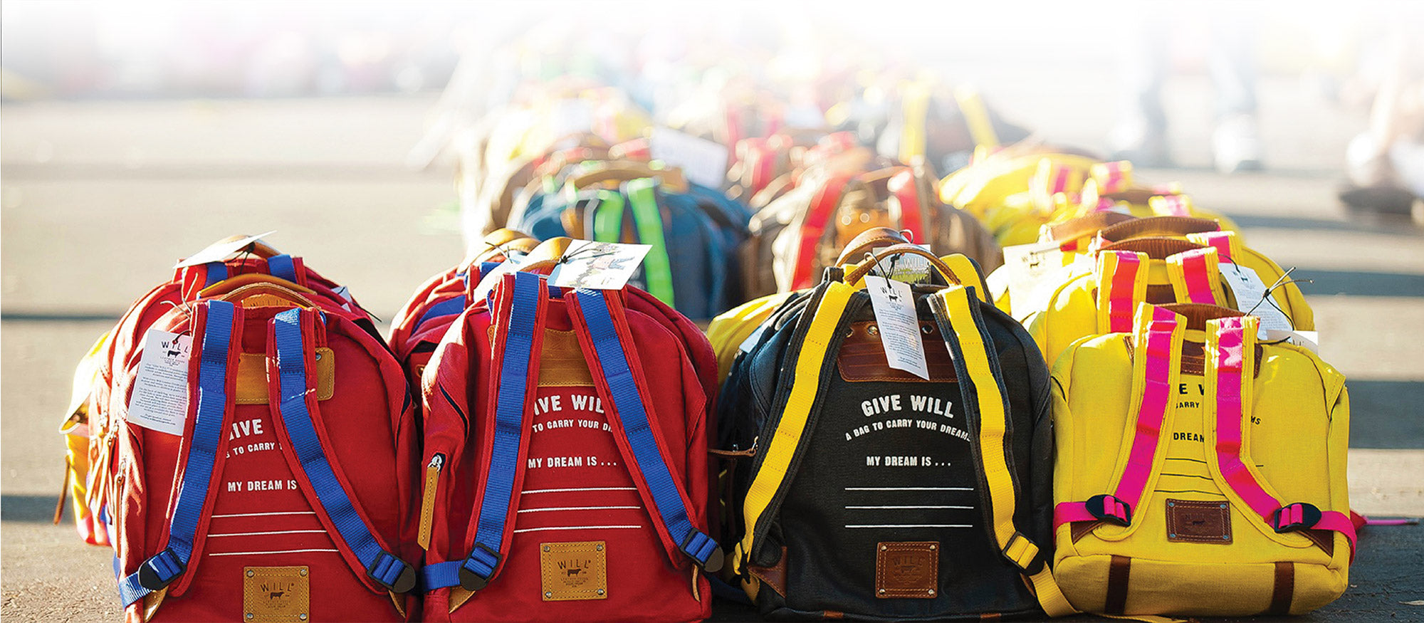 Give Will Backpacks