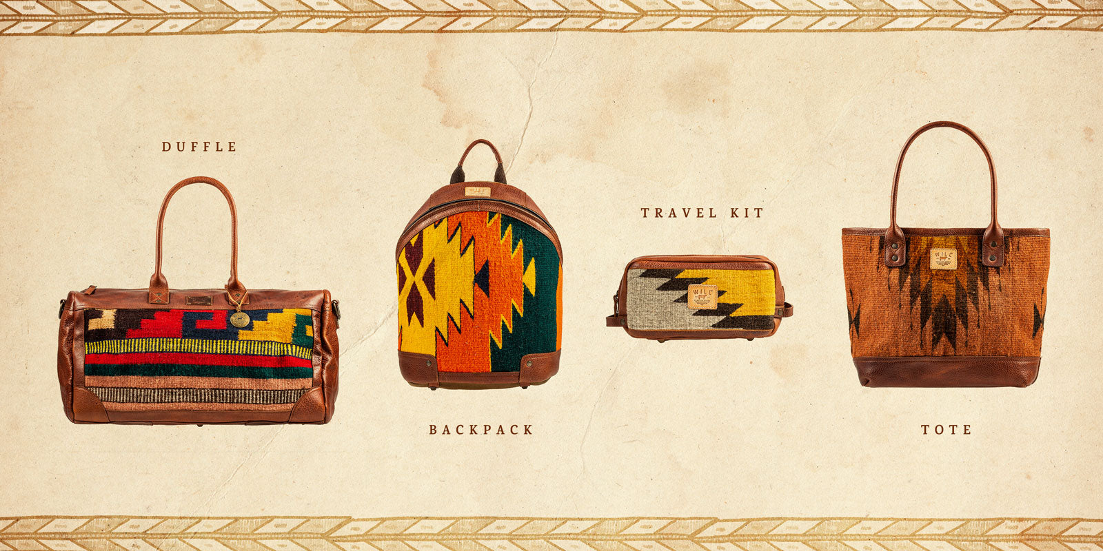 Will Leather Goods Oaxacan Bag Collection