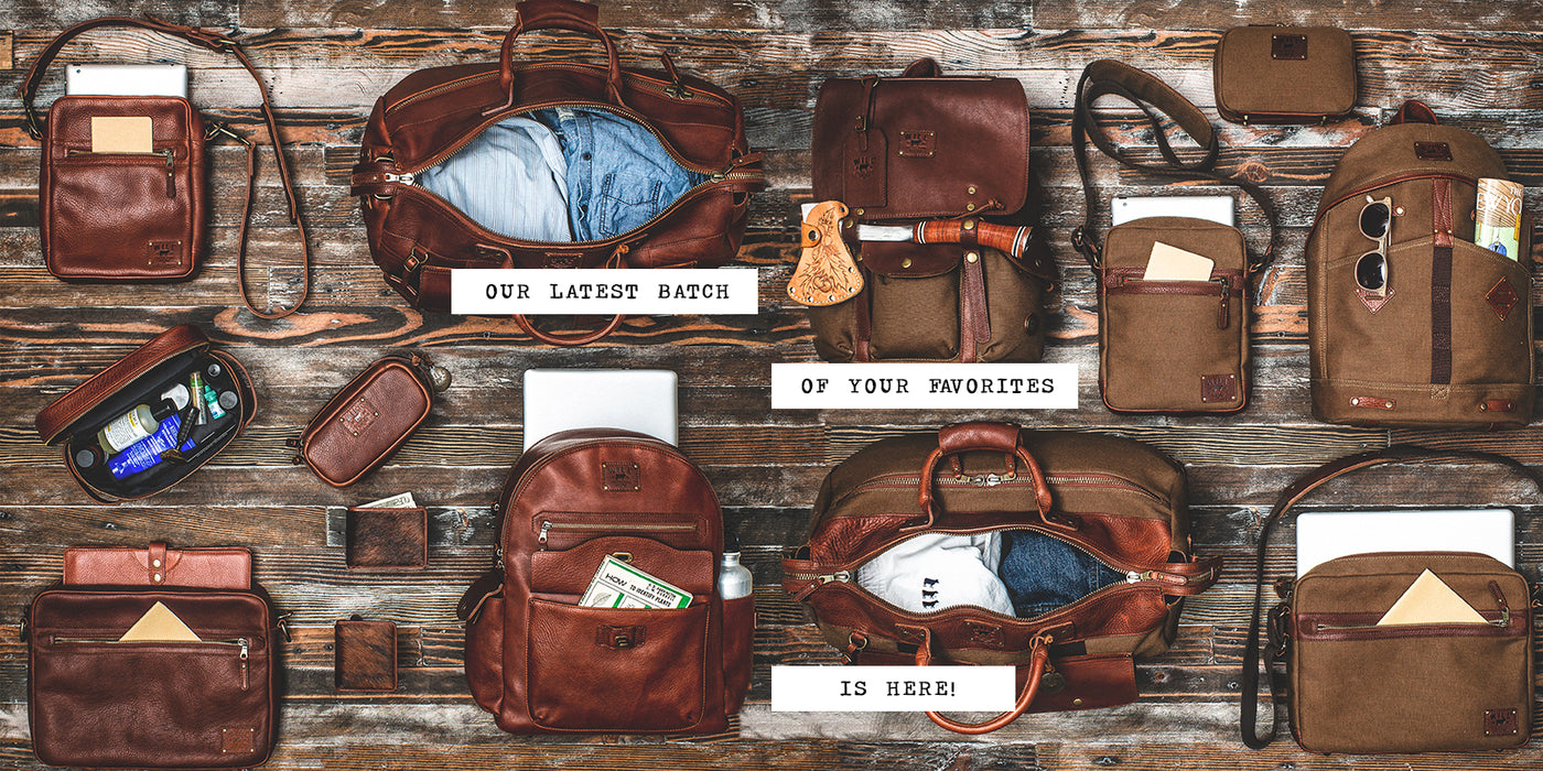 b9902f3556cc Leather Bags, Belts, Wallets and Gifts | Will Leather Goods