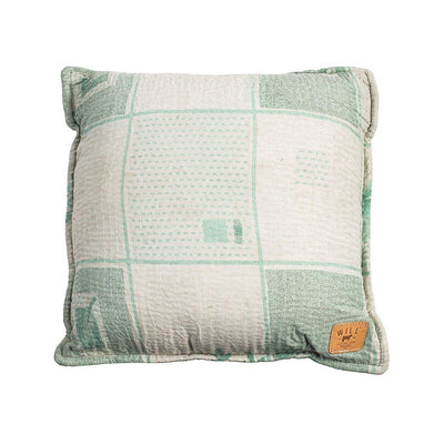 Reversible Kantha Pillow Cover Home WillLeatherGoods 23