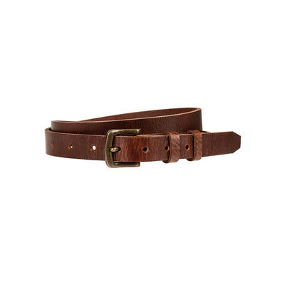 Tan 25mm luxe belt