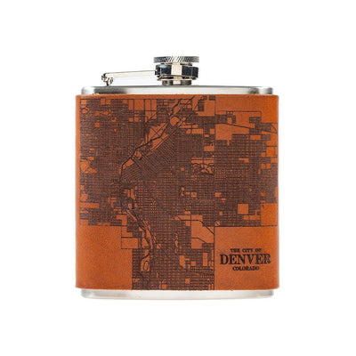 City Flask Beverage WillLeatherGoods Denver