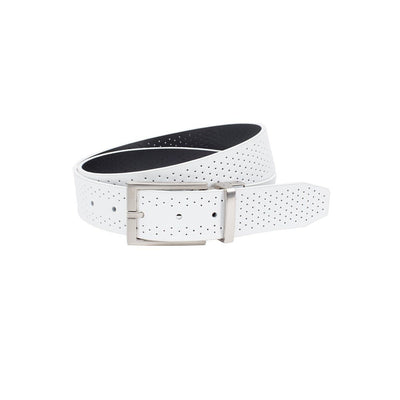 NIKE Men's Perforated Reversible Belt Belt WillLeatherGoods