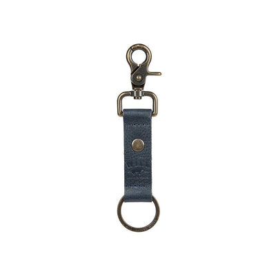 Wren Keychain Navy  Key ring lobster clasp