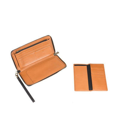 Imogene Checkbook Clutch Wallet WillLeatherGoods