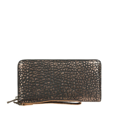 Imogene Checkbook Clutch Wallet WillLeatherGoods Copper