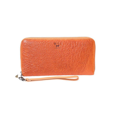 orange Imogene Checkbook Clutch - The Original