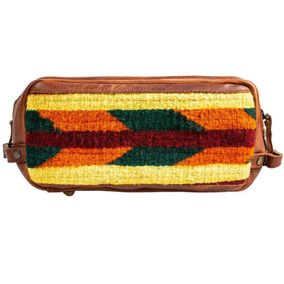 Oaxacan Leather Travel Kit