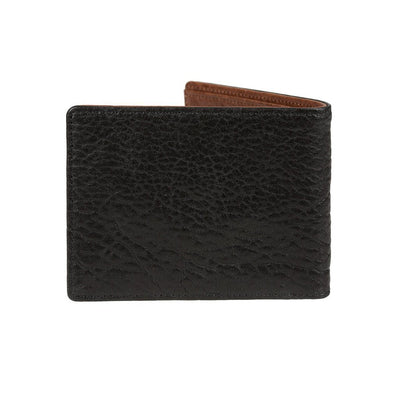 Black Cognac Marvel Billfold Back