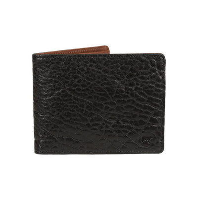 Black Cognac Marvel Billfold Front