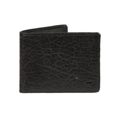 Marvel Billfold Black Washed Italian Lambskin