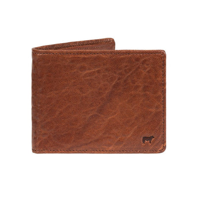 Marvel Billfold Cognac Washed Italian Lambskin