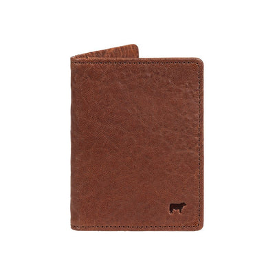 Flip Front Pocket Wallet Cognac