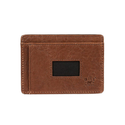 Black Cognac Quip Card Case