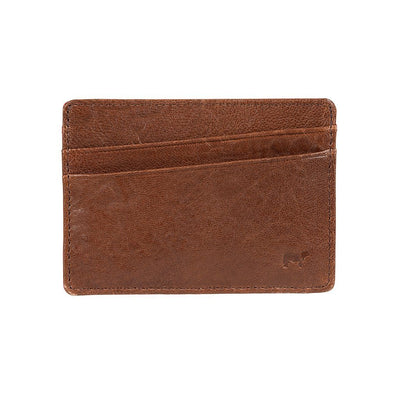 Quip Card Case Cognac Wine