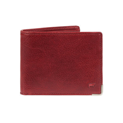 The Industrialist Billfold Wallet WillLeatherGoods Wine
