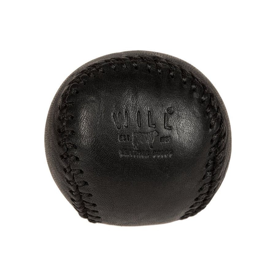 Leather Baseball Paperweight