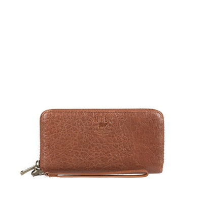 Alix Zip Around Clutch Wallet WillLeatherGoods Cognac