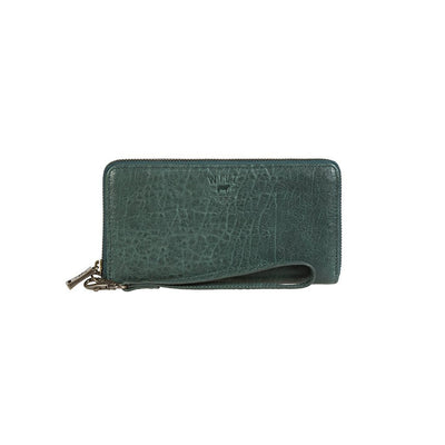Alix Zip Around Clutch Wallet WillLeatherGoods Pine