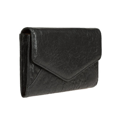 Her Chain Wallet Black 3QTR