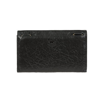 Her Chain Wallet Black Back
